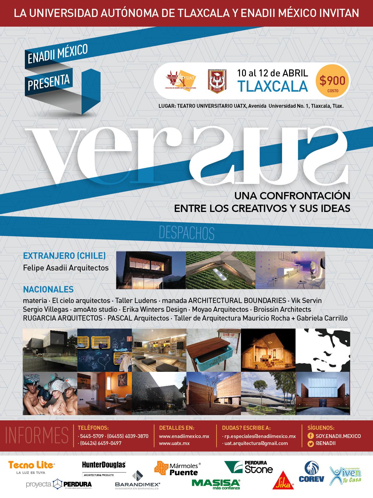 Pascal Arquitectos en el congreso ENADII Tlaxcala este 12 de Abril